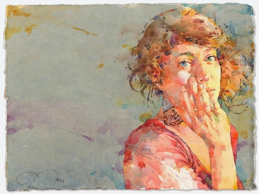 Фигуративная живопись художника-акварелиста Ted Nuttall 35