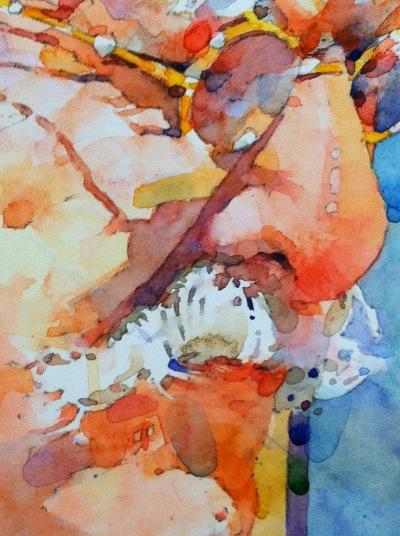 Фигуративная живопись художника-акварелиста Ted Nuttall 37