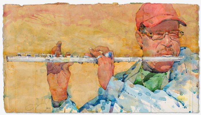 Фигуративная живопись художника-акварелиста Ted Nuttall 40