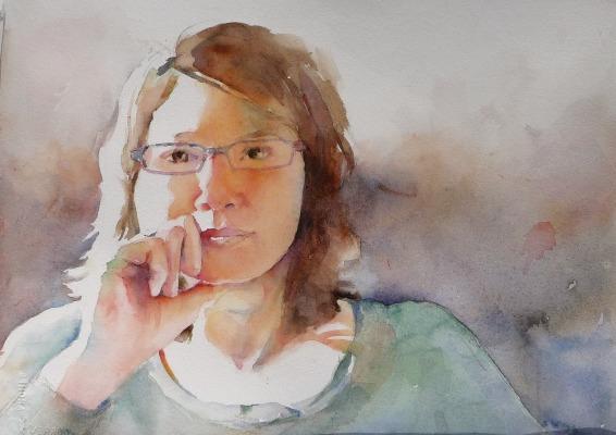 Фигуративная живопись художника-акварелиста Ted Nuttall 41