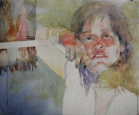Фигуративная живопись художника-акварелиста Ted Nuttall 43