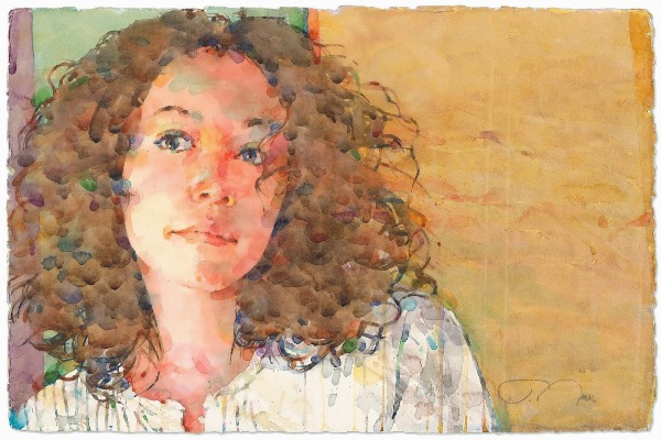Фигуративная живопись художника-акварелиста Ted Nuttall 444