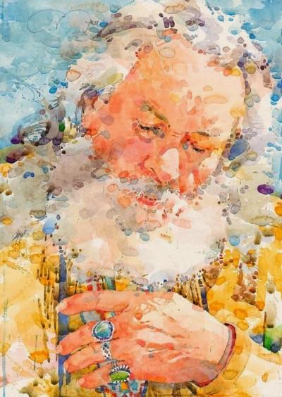 Фигуративная живопись художника-акварелиста Ted Nuttall 5
