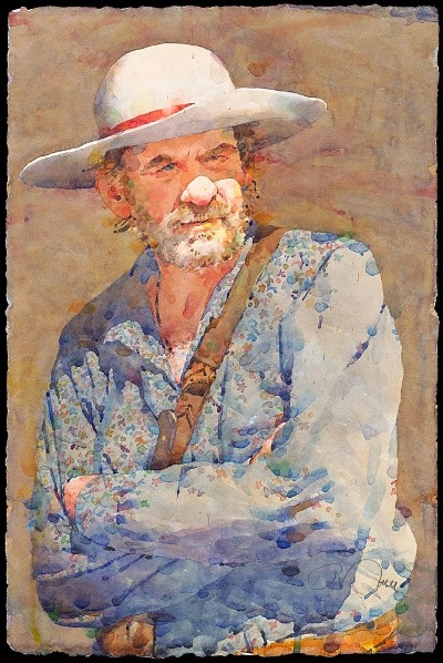 Фигуративная живопись художника-акварелиста Ted Nuttall 7