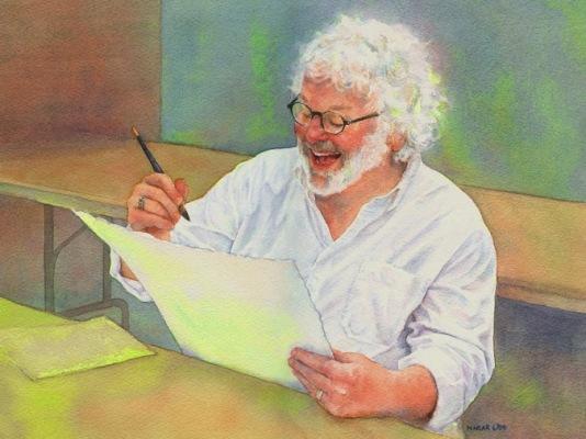 Фигуративная живопись художника-акварелиста Ted Nuttall 8