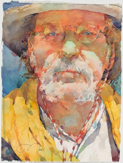 Фигуративная живопись художника-акварелиста Ted Nuttall 9