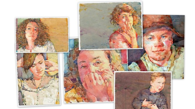Фигуративная живопись художника-акварелиста Теда Натталля