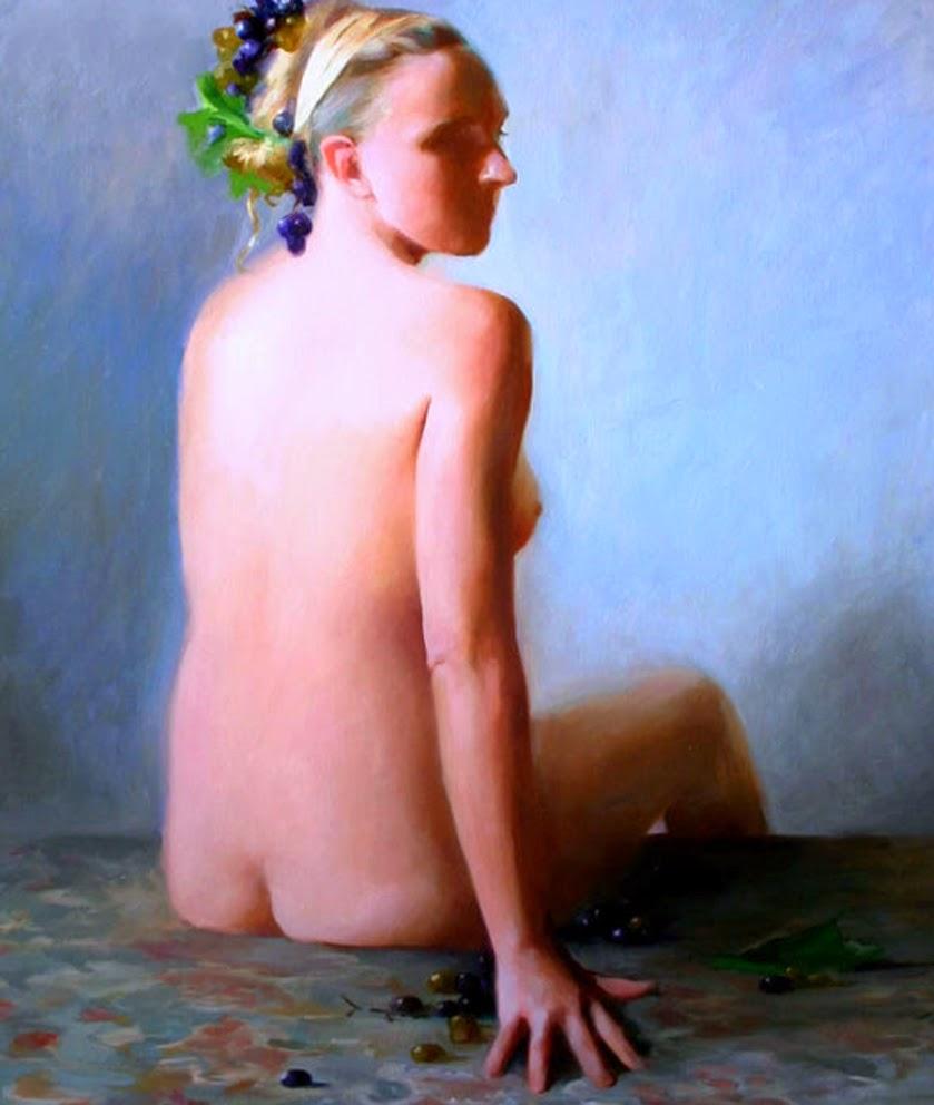 Мия Бержерон - темпераментный художник 1
