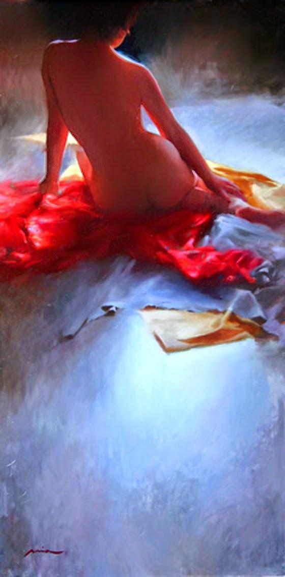 Мия Бержерон - темпераментный художник 10