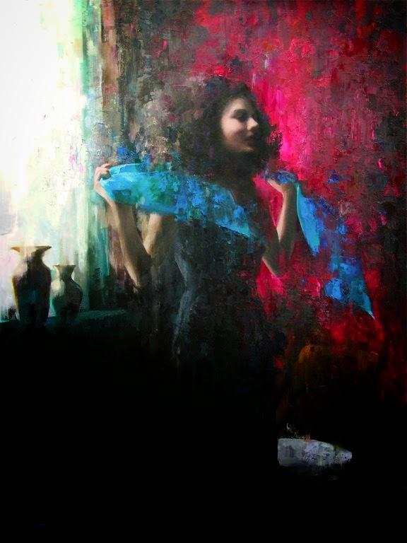 Мия Бержерон - темпераментный художник 11