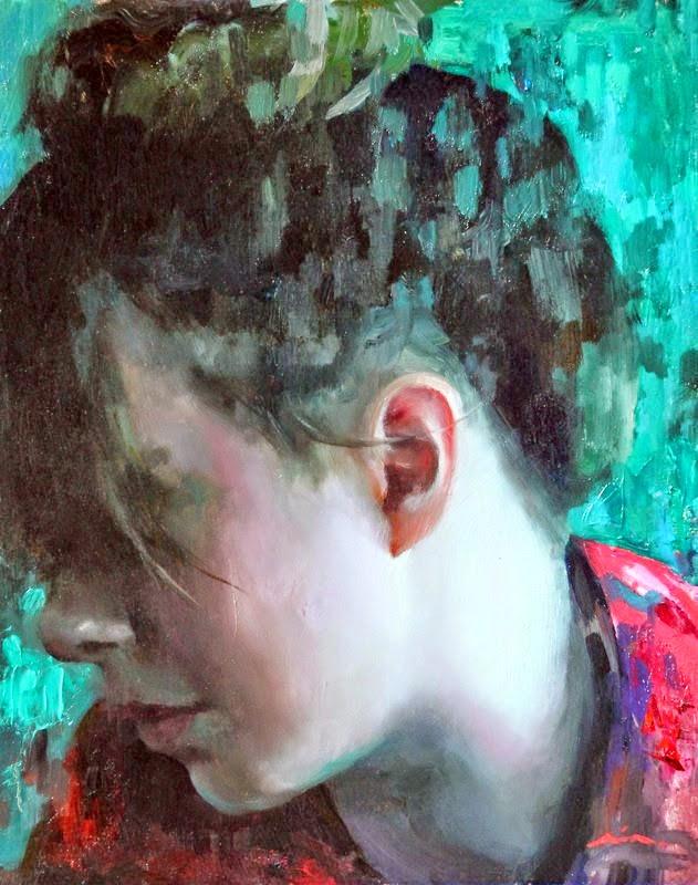 Мия Бержерон - темпераментный художник 12