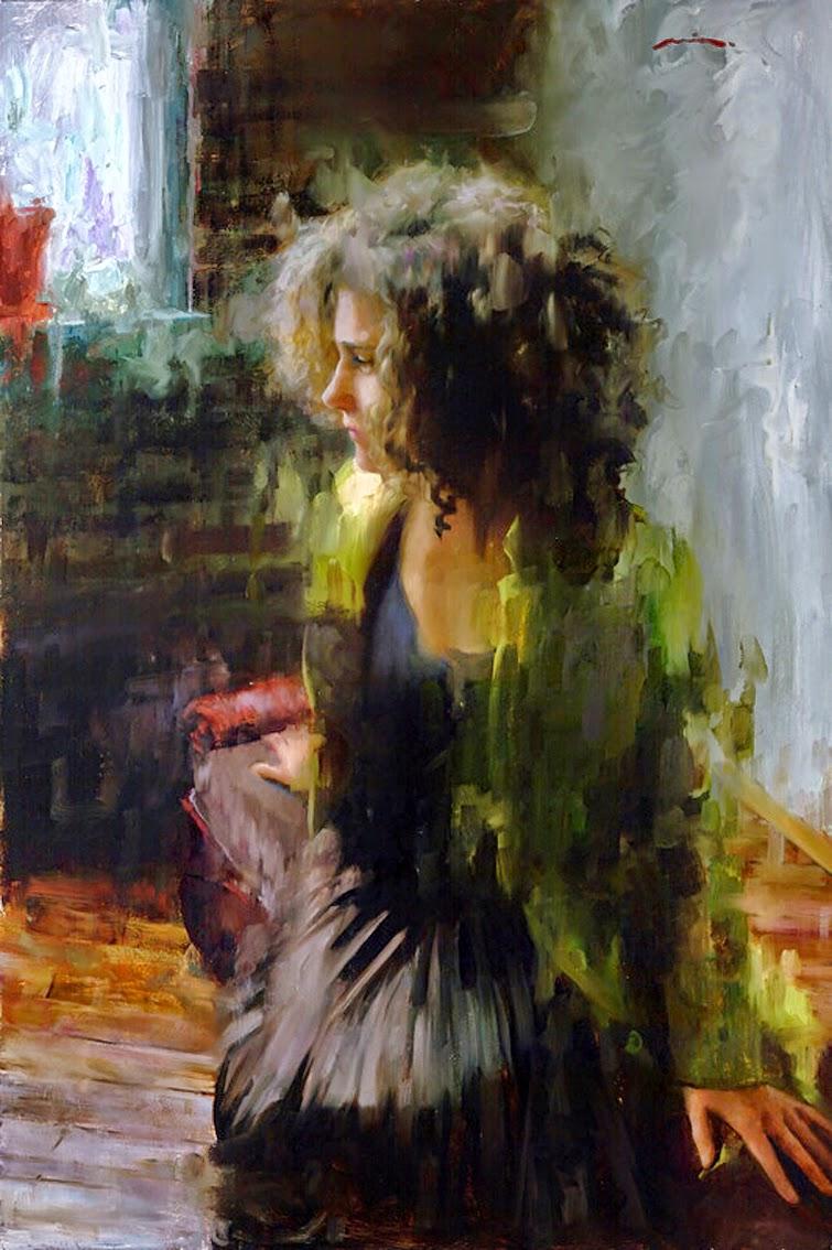 Мия Бержерон - темпераментный художник 15