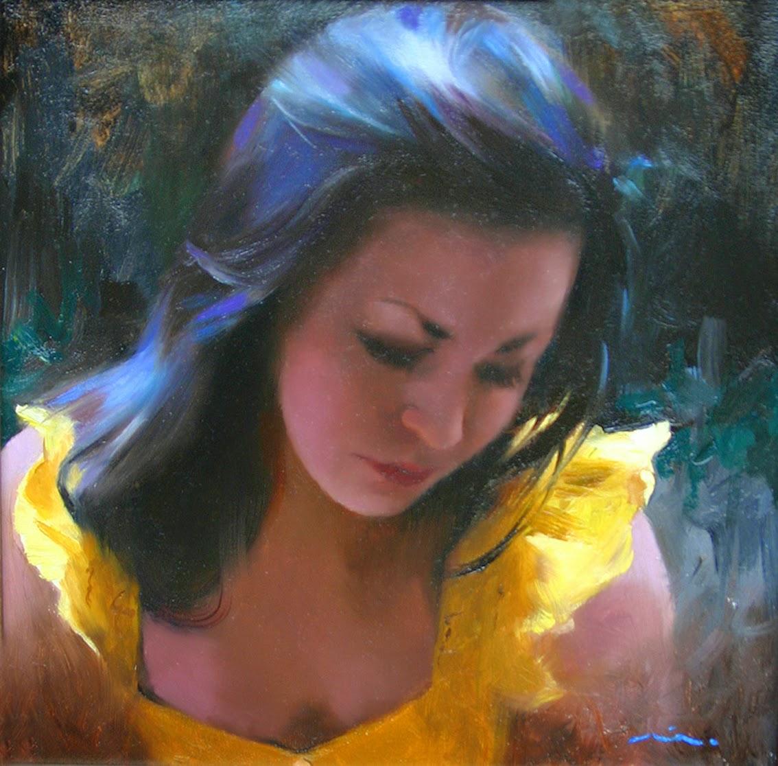 Мия Бержерон - темпераментный художник 17