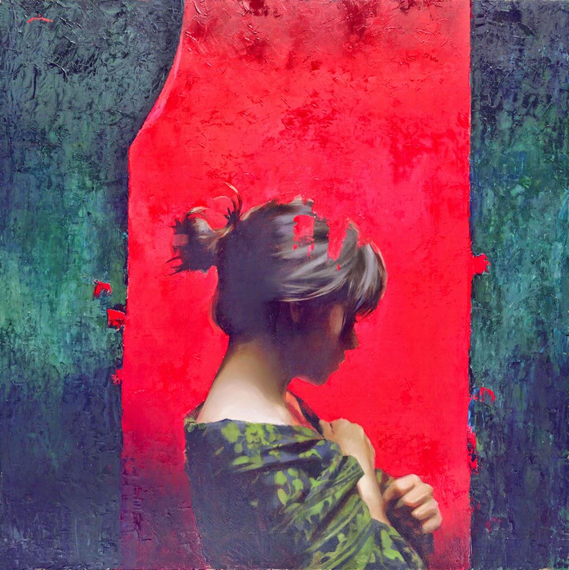 Мия Бержерон - темпераментный художник 18