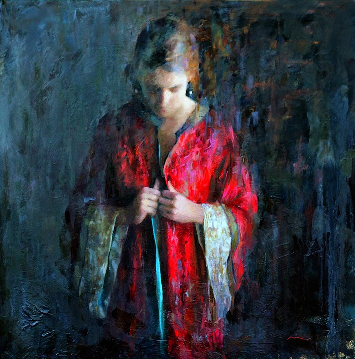 Мия Бержерон - темпераментный художник 19