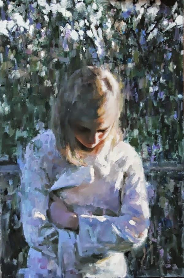 Мия Бержерон - темпераментный художник 26