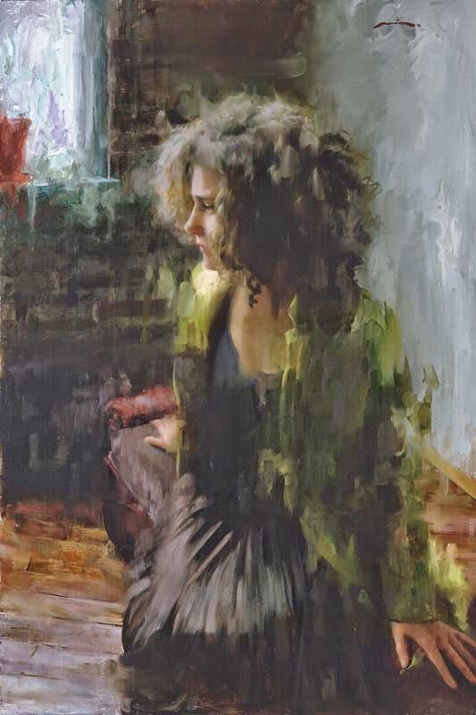 Мия Бержерон - темпераментный художник 8