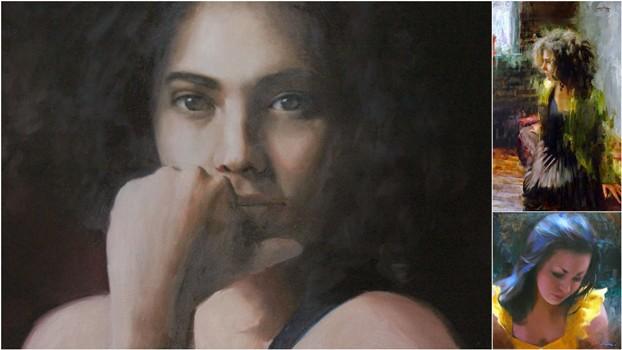 Мия Бержерон - темпераментный художник