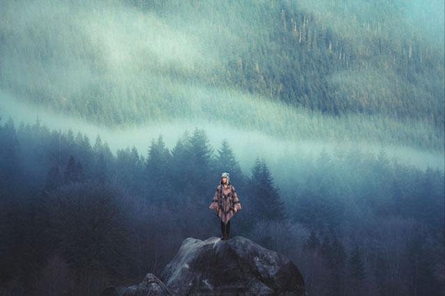 Великолепные пейзажи на снимках Элизабет Гэдд 15