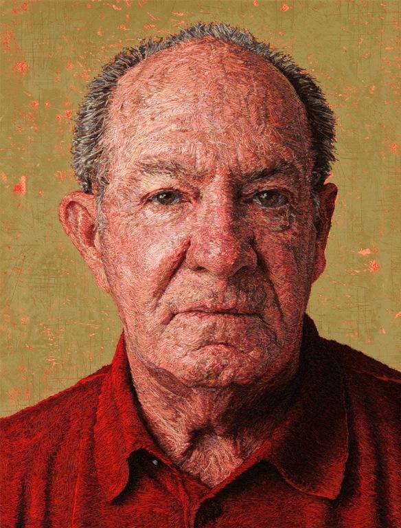Вышитые портреты от Кейси Завалия 3