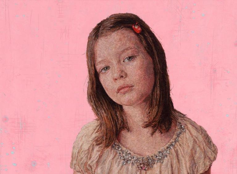 Вышитые портреты от Кейси Завалия 4