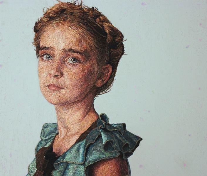 Вышитые портреты от Кейси Завалия 6