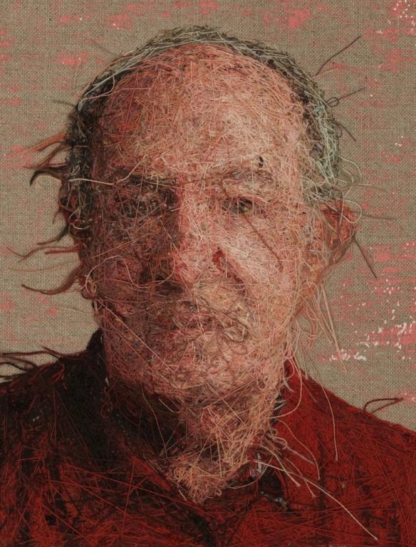 Вышитые портреты от Кейси Завалия 7