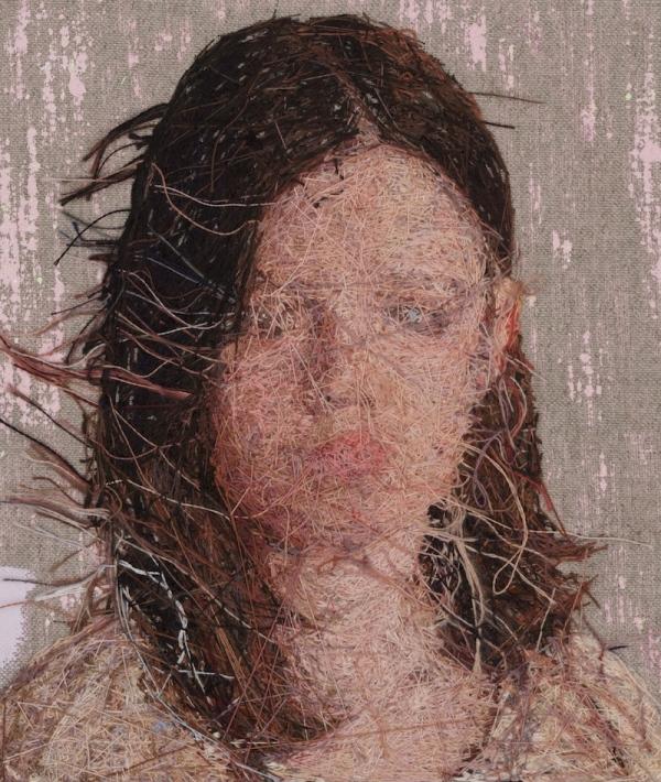 Вышитые портреты от Кейси Завалия 8