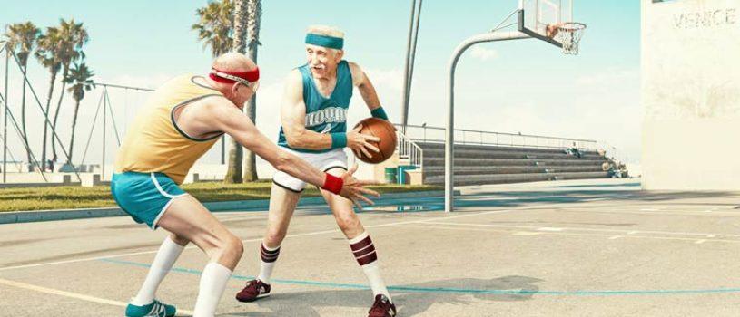 «Золотые годы»: пожилые спортсмены от Дина Брэдшоу