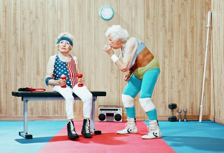 Золотые годы пожилые спортсмены от Дина Брэдшоу 13