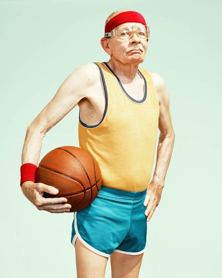 Золотые годы пожилые спортсмены от Дина Брэдшоу 15