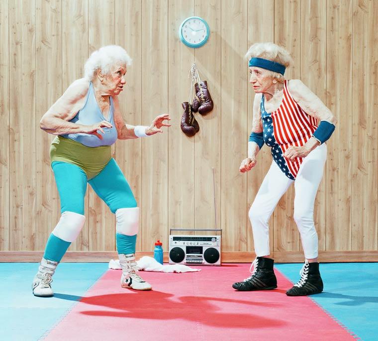 Золотые годы пожилые спортсмены от Дина Брэдшоу 16
