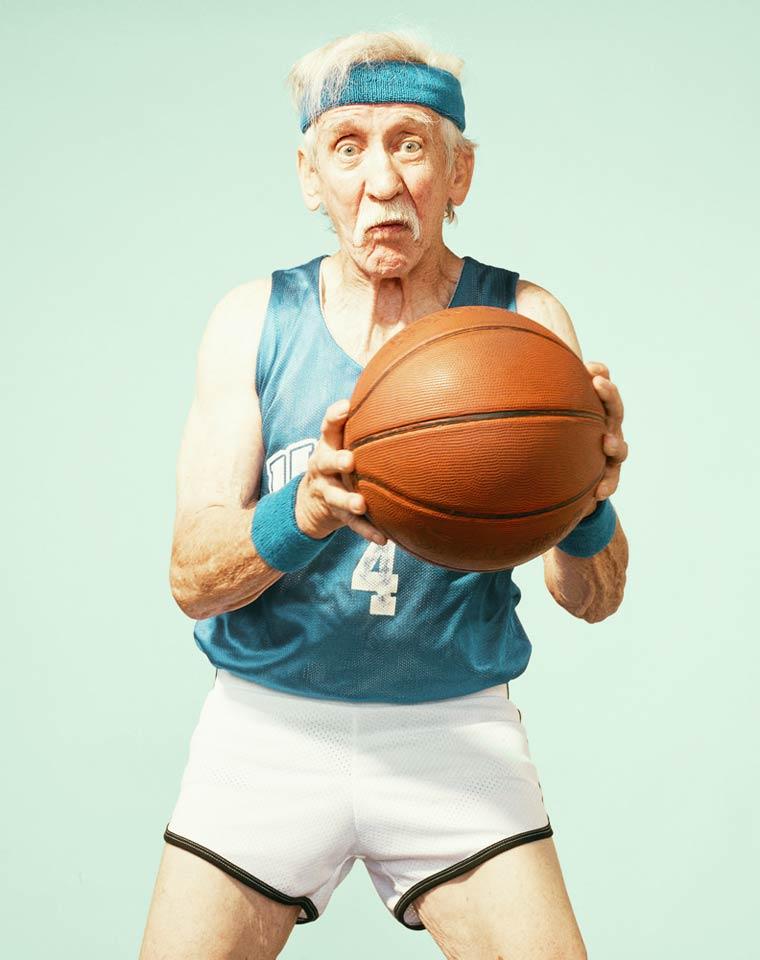 Золотые годы пожилые спортсмены от Дина Брэдшоу 18