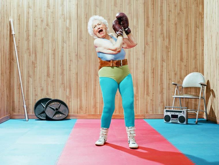 Золотые годы пожилые спортсмены от Дина Брэдшоу 19