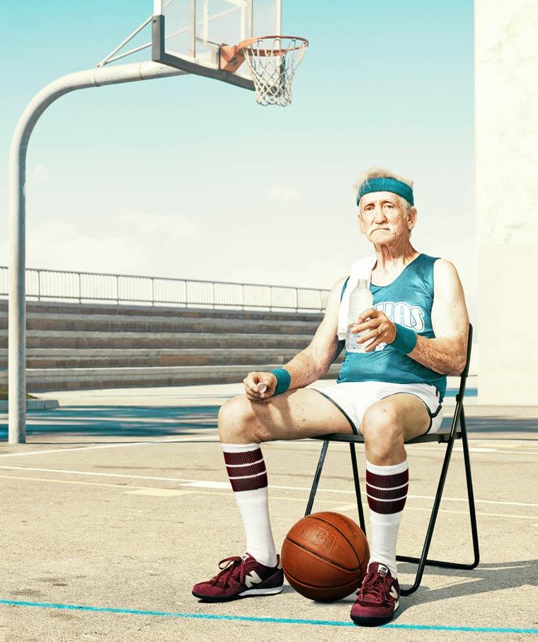 Золотые годы пожилые спортсмены от Дина Брэдшоу 3