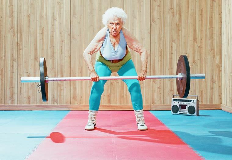 Золотые годы пожилые спортсмены от Дина Брэдшоу 5