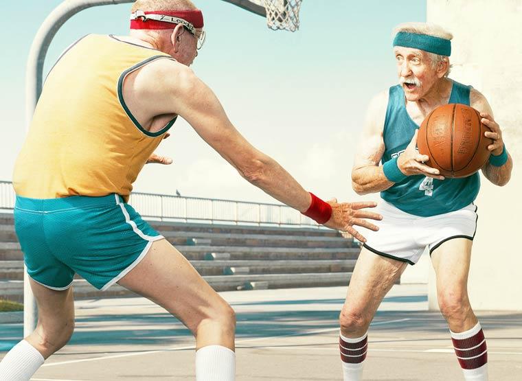 Золотые годы пожилые спортсмены от Дина Брэдшоу 8