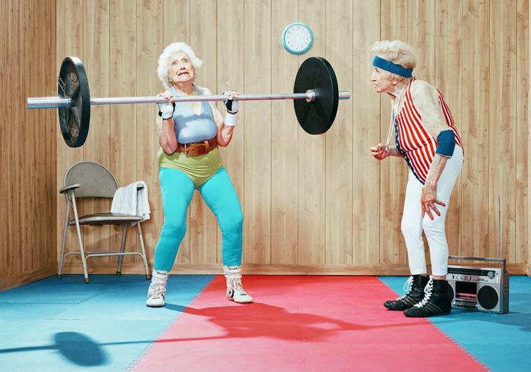 Золотые годы пожилые спортсмены от Дина Брэдшоу 9