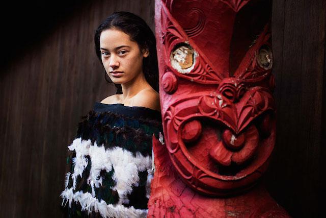 Храм маори, Новая Зеландия