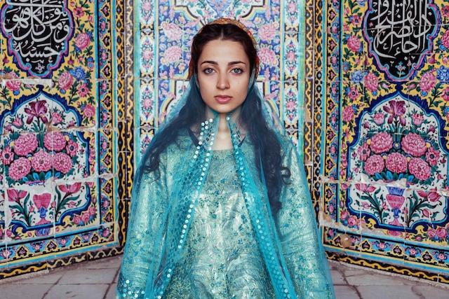 Мелина из Шираза, Иран