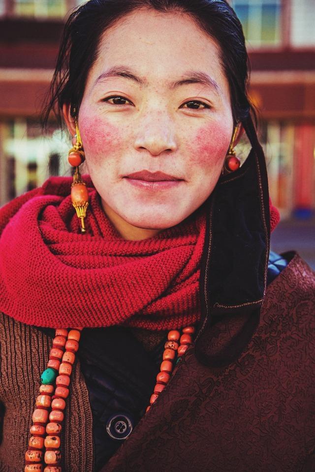 Тибетка из Сяхэ, Китай.