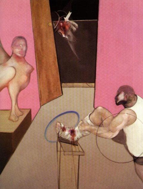 Фрэнсис Бэкон художник-абстракционист 5