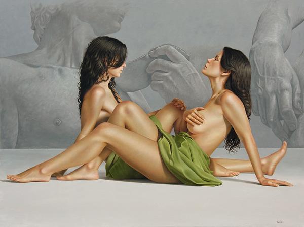 Гиперреалистичные полотна Омара Ортиза