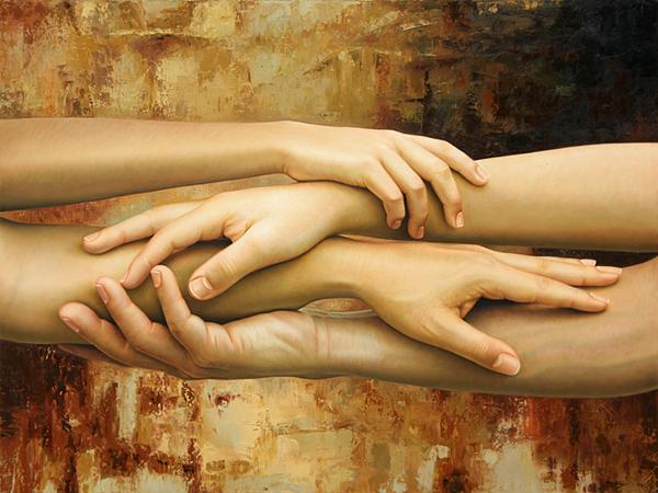 Гиперреалистичные полотна Омара Ортиза 15