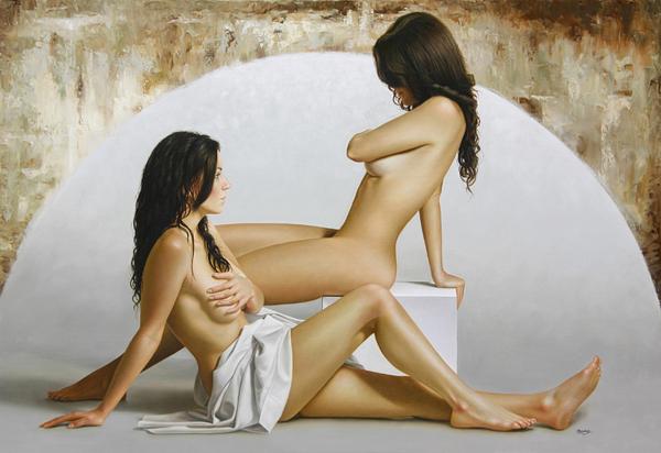 Гиперреалистичные полотна Омара Ортиза 16