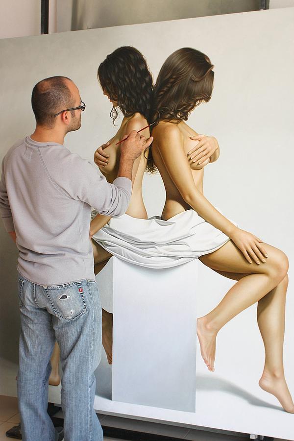 Гиперреалистичные полотна Омара Ортиза 21