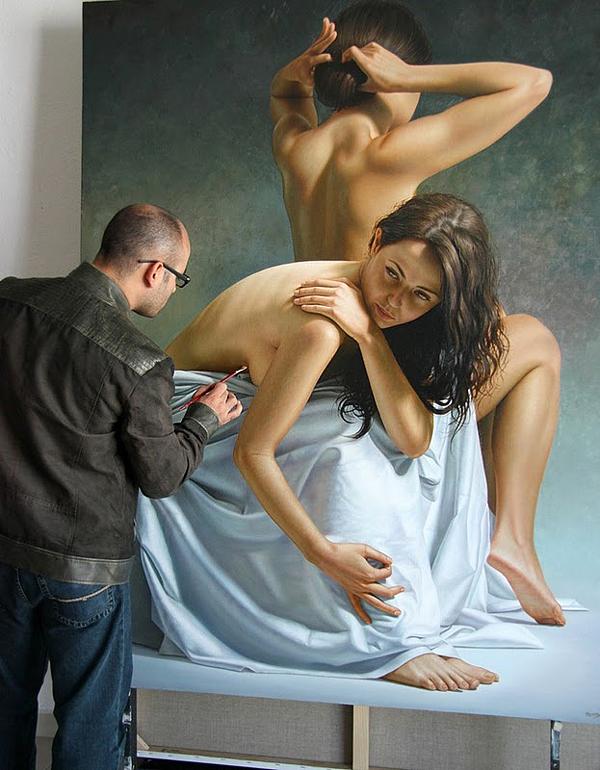 Гиперреалистичные полотна Омара Ортиза 22