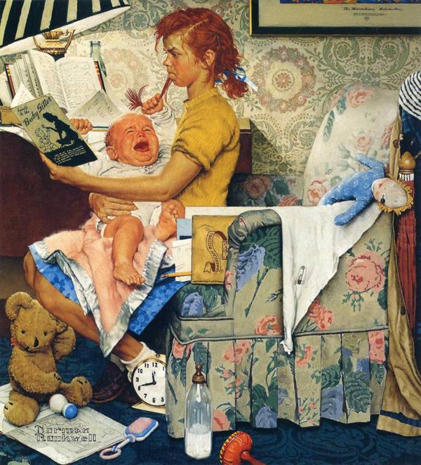 Иронические иллюстрации Нормана Рокуэлла 19