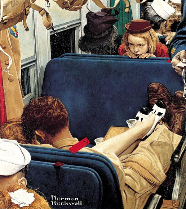 Иронические иллюстрации Нормана Рокуэлла 2