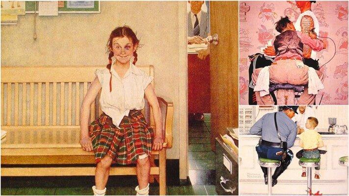 Иронические иллюстрации Нормана Рокуэлла